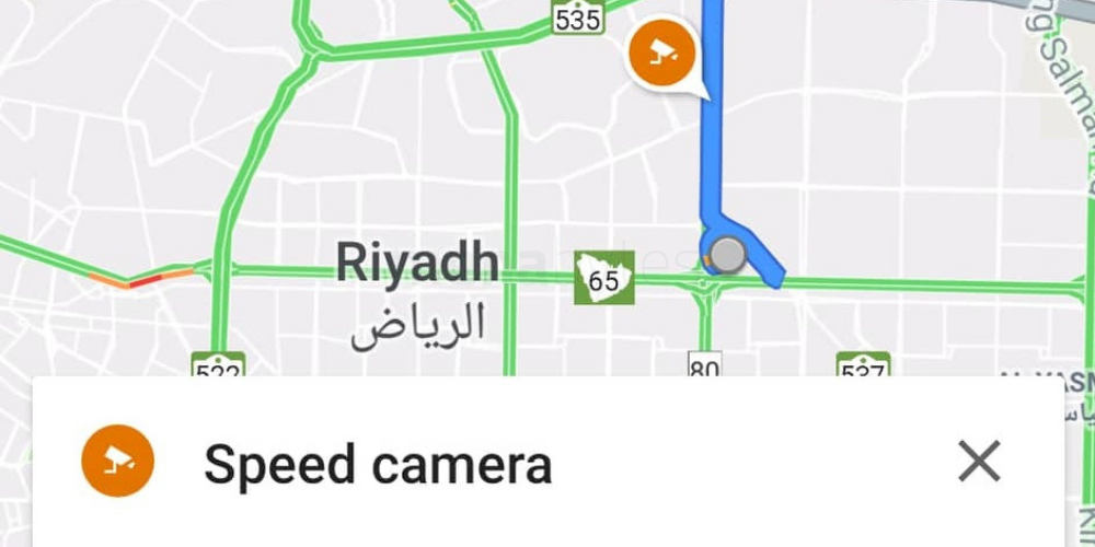 Google Maps now shows speed cameras and speed limits in